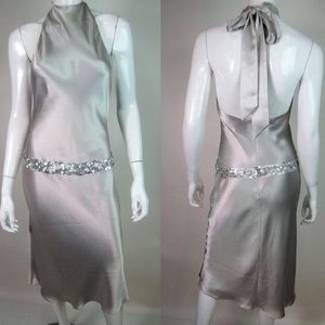 Vera Wang Silver Dress